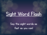 Sight Word Flash-All Rainbow Words