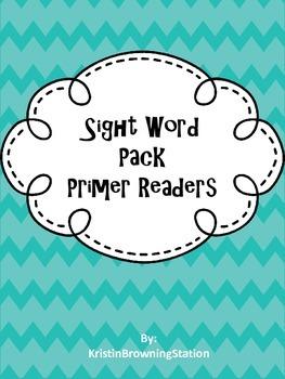 Sight Word Flash Card Readers: Primer Words