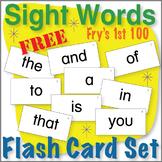 Sight Word Flash Card Set