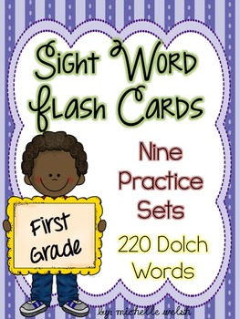 Sight Word Flash Card Sets (Dolch Word Lists)