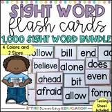 Sight Word Flash Cards - 1,000 Sight Word Bundle