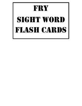 Sight Word Flash Cards~ 1st grade Case Files Bundle