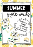 Sight Word Flash Cards- 25, 50, 100, & 200 High Frequency Words