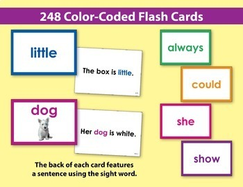 Sight Word Flash Cards & Activities {Bundle}