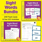 Sight Word Flash Cards & Activities for Older Students {Bundle}