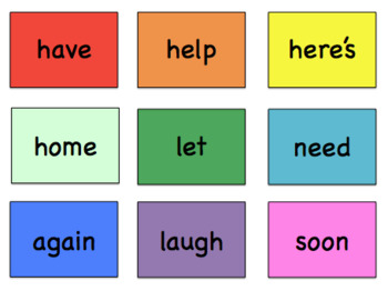 Sight Word Flash Cards (Blue - Levels 9, 10 & 11)