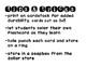 Sight Word Flash Cards - Color Your Own - Pre Primer Primer Frys 100