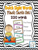 Sight Word Flash Cards Dolch 220 Words Set