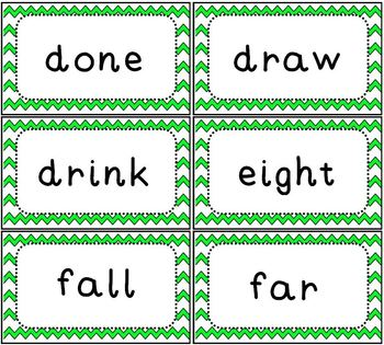 Sight Word Flash Cards Dolch 3rd Grade Set