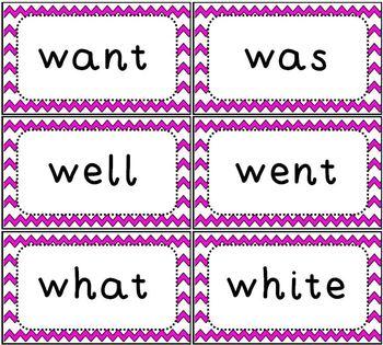 Sight Word Flash Cards Dolch Primer Set