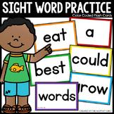 Sight Word Flash Cards (Editable)
