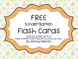 Sight Word Flash Cards FREE