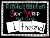 Sight Word Flash Cards FREEBIE