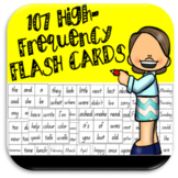 Sight Word Flash Cards - High Frequency Flash Cards
