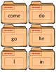 Sight Word Flash Cards~ Kindergarten Case Files Bundle