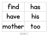 Sight Word Flash Cards National Geographic Reach for Readi