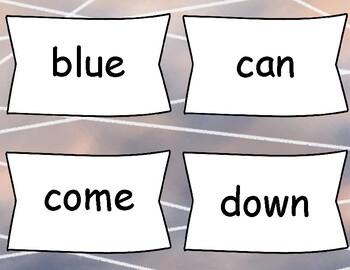 Sight Word Flash Cards - Pre-Primer