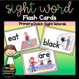 Sight Word Flash Cards: Primer Dolch Sight Words