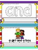 Sight Word Flash Cards Reading Fluency (Pre Primer)