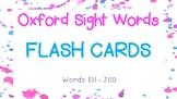 Sight Word Flash Cards - Set 2
