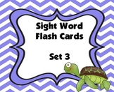 Sight Word Flash Cards (Set 3)