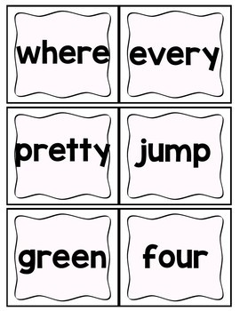 Sight Words Packet with Assessments (Editable)