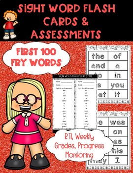 Sight Word Flashcards and Assessments