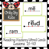 Sight Word Flash Cards for Reading Mastery Set 1 (Lessons