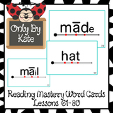 Sight Word Flash Cards for Reading Mastery Set 3 (Lessons