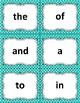Sight Word Flashcards: 100 Level 1 Fry Sight Word Flashcards for Reading Fluency