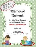 Sight Word Flashcards: 100 Level 2 Fry Sight Word Flashcar
