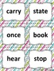 Sight Word Flashcards: 100 Level 3 Fry Sight Word Flashcards for Reading Fluency