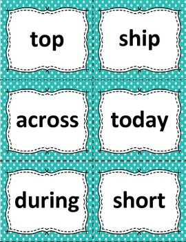 Sight Word Flashcards: 100 Level 4 Fry Sight Word Flashcards for Reading Fluency