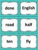 Sight Word Flashcards: 100 Level 5 Fry Sight Word Flashcards for Reading Fluency