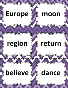 Sight Word Flashcards: 100 Level 6 Fry Sight Word Flashcards for Reading Fluency
