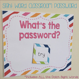Sight Word Password
