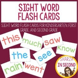 Sight Word Flashcards B&W AND Color (25, 50,100 High Frequ