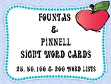 Sight Word Flashcards - Complete Fountas and Pinnell Sight Word Set!