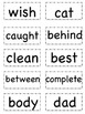 Sight Word Flashcards (List C)