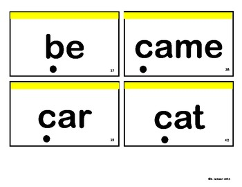 Sight Word Flashcards - Primer, 1st & 2nd Grade Words