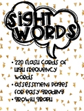 Sight Word Flashcards - RTI - Fluency Practice