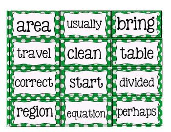 Sight Word Flashcards Set 4
