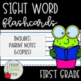 Sight Word Flashcards and Progress Monitoring