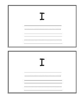 Sight Word Flip Book