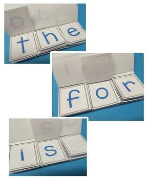 Sight Word Flip Book - Set 1