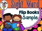 Sight Word Flip Book  {Turn & Learn} SAMPLE