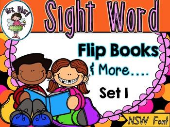 Sight Word Flip Book  {Turn & Learn} SET 1 (NSW)