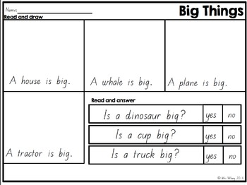 Sight Word Flip Book  {Turn & Learn} SET 1 (QLD)