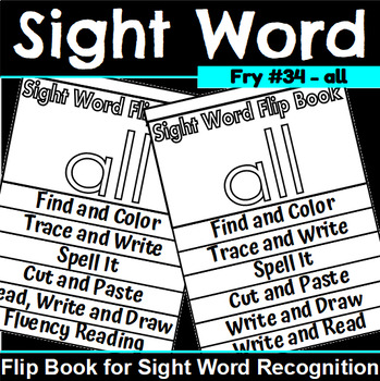 Sight Word Flip Book for all
