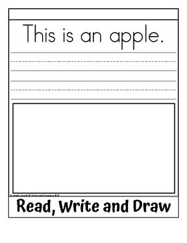 Sight Word Flip Book for an